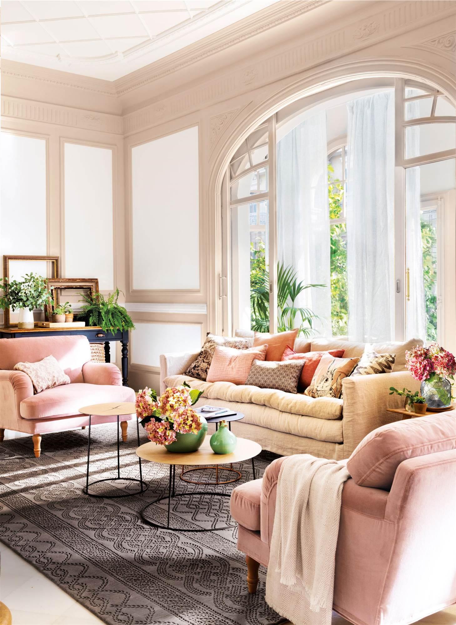Paredes com molduras molduras pintadas para interiores nada clsicos molduras para techos - Molduras para paredes interiores ...