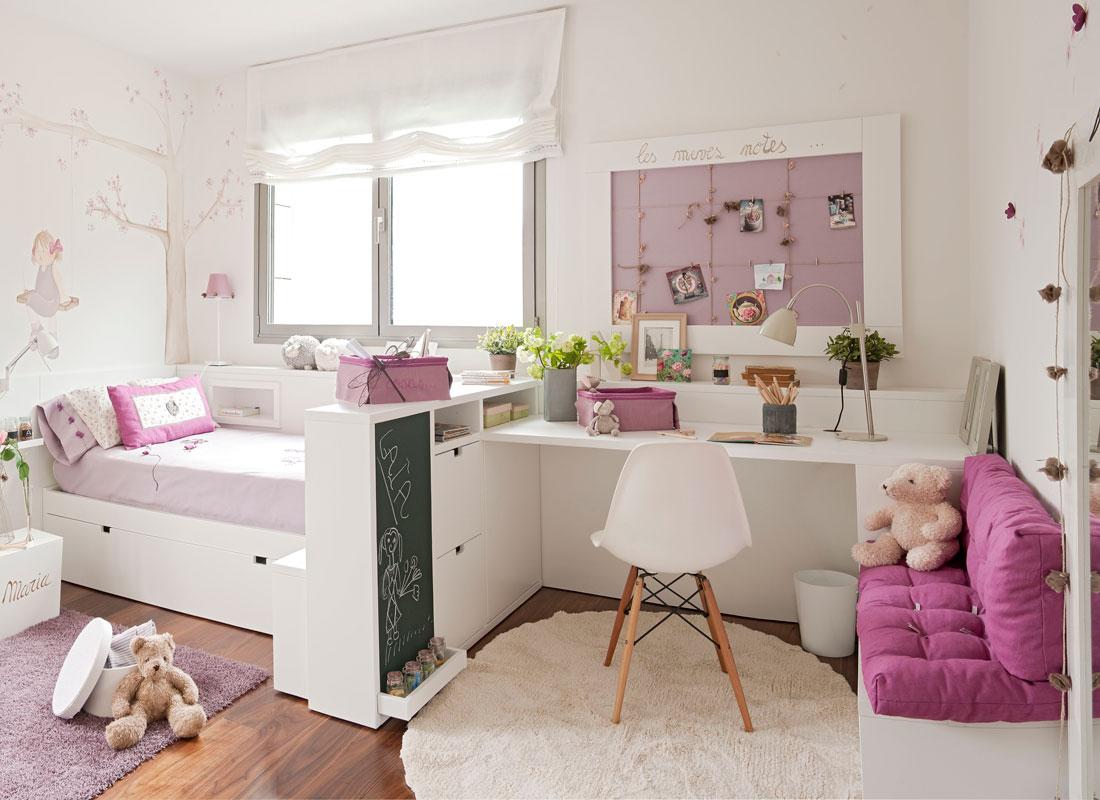 Colores para dormitorios infantiles - Dormitorios infantiles de nina ...