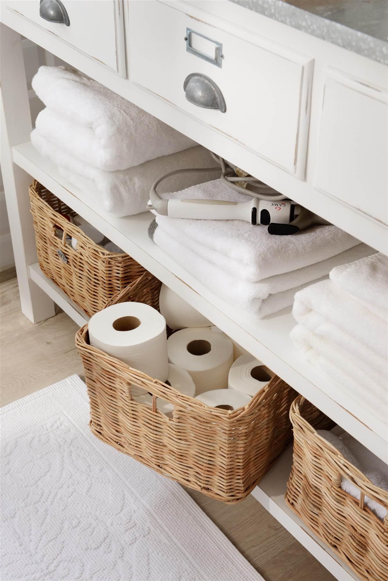 Cestas De Todos Los Estilos En El Mueble # Muebles Doble Funcionalidad