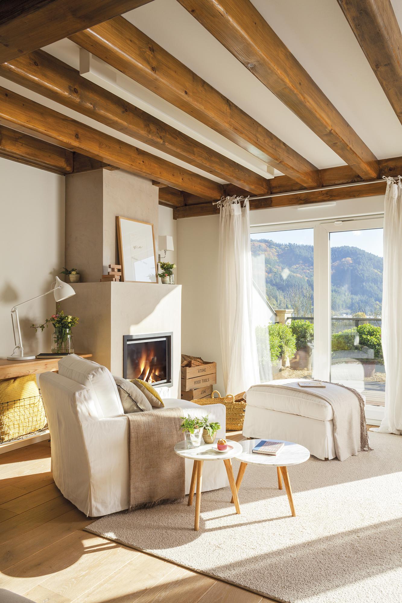 Una Casa A Medida De Sus Pasiones # Muebles Suspendidos Salon