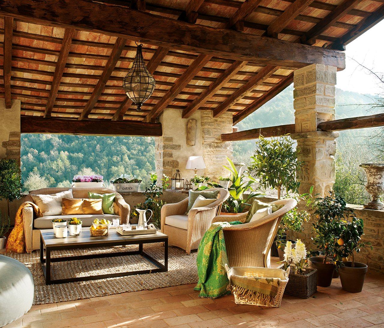 Las 25 mejores fotos de instagram de el mueble de 2017 - Casas con porches de madera ...