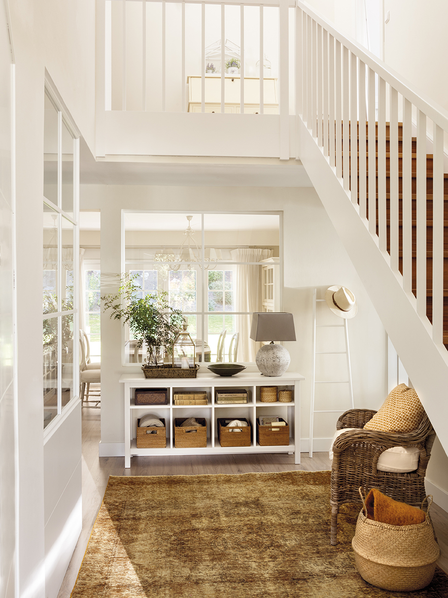 Recibidor muebles zapateros e ideas para recibidores - Alfombras para recibidor ...