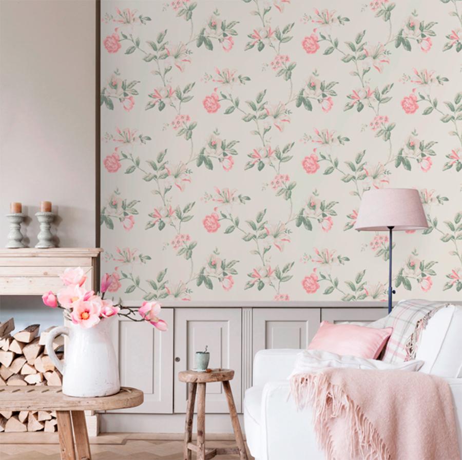 Flores xl una de las tendencias decorativas del 2018 for Papel pintado leroy merlin 2017