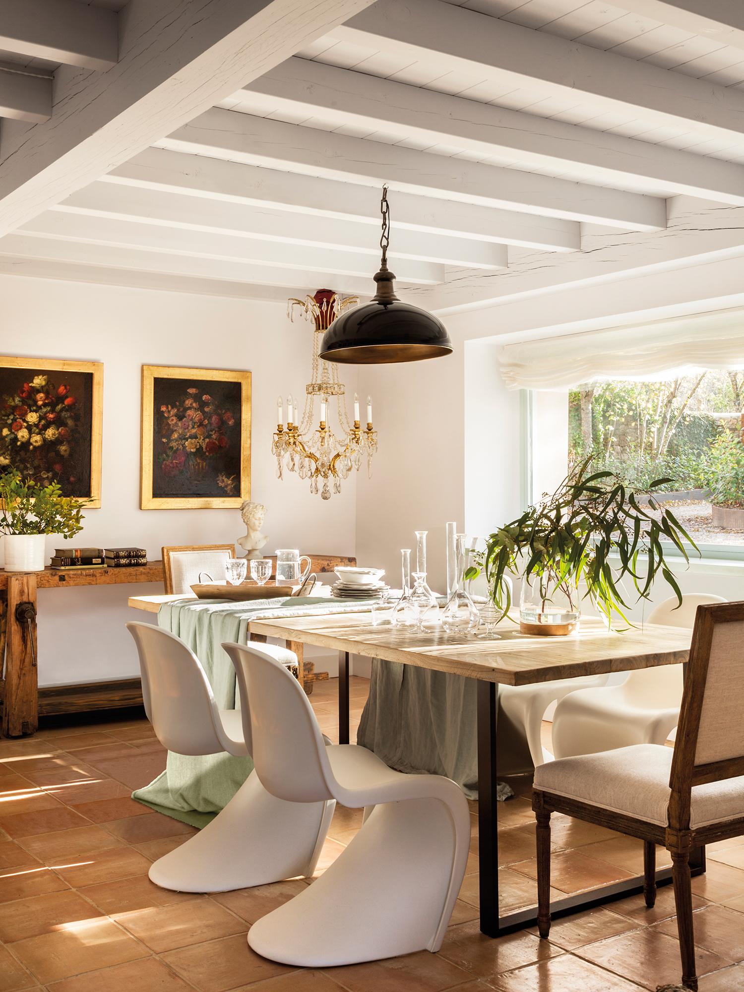 Muebles vintage y otras piezas que suman personalidad a la - Olores de otras cocinas en mi casa ...