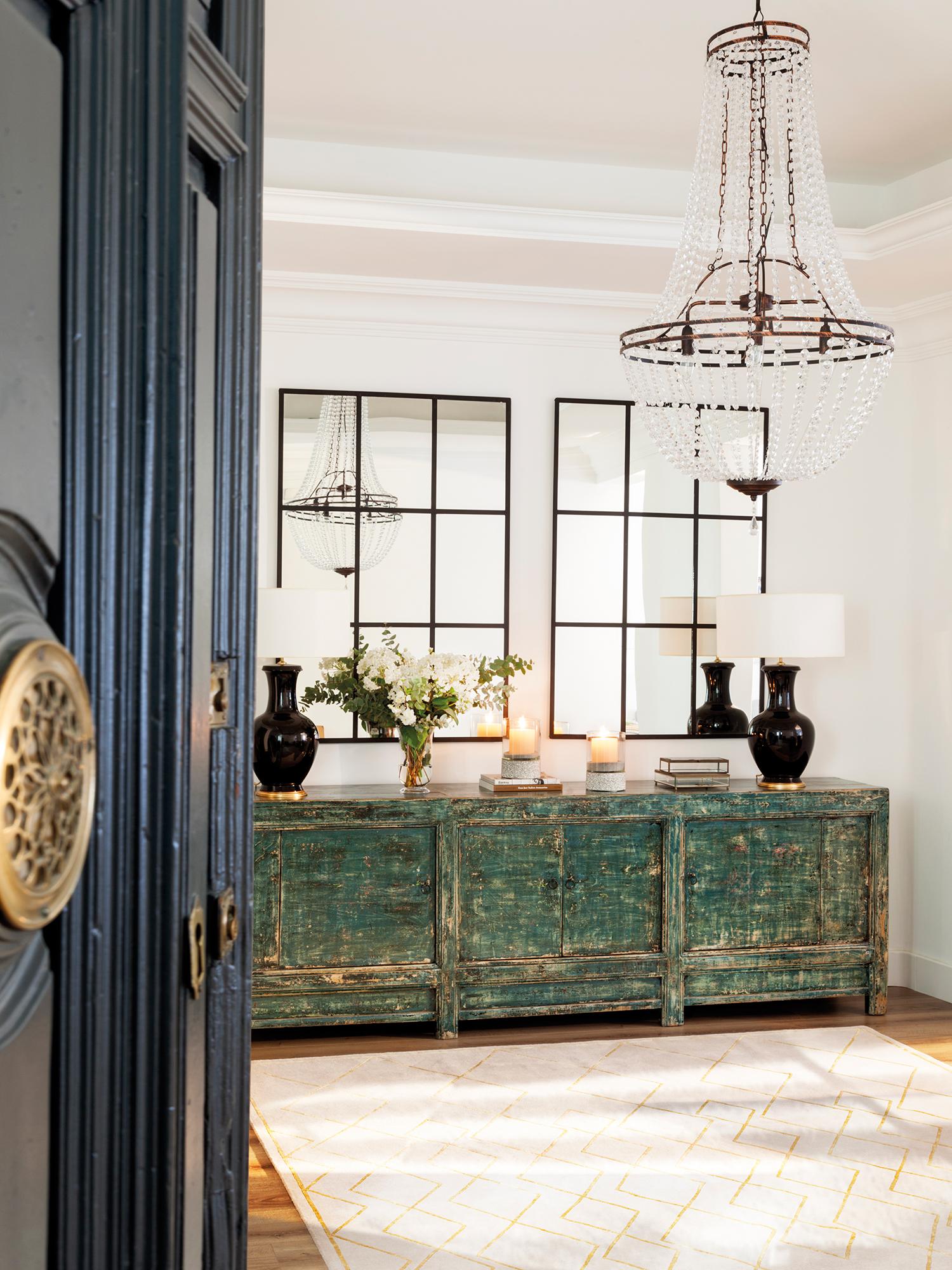 Recibidor muebles zapateros e ideas para recibidores for Mueble zapatero antiguo