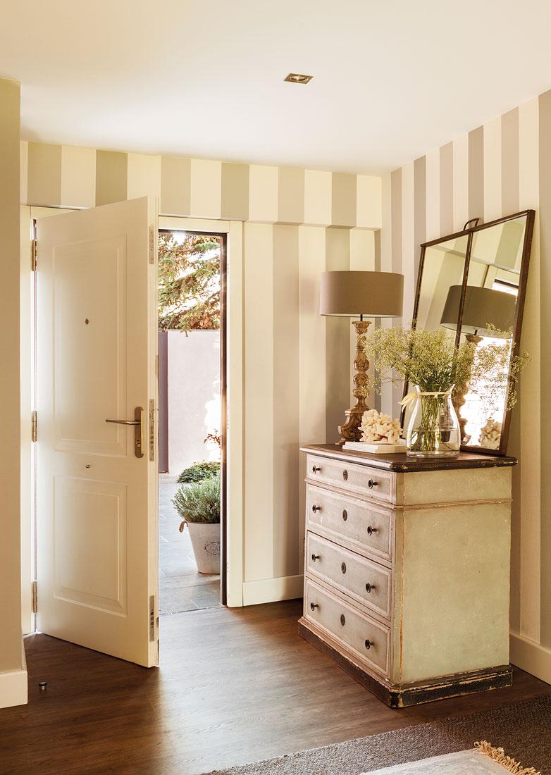 Puertas ideales para ti - Papel pintado dormitorio principal ...
