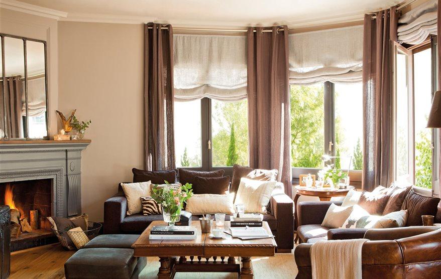 Cortinas perfecta para ventanas ideales - Cortinas para ventanas pequenas ...