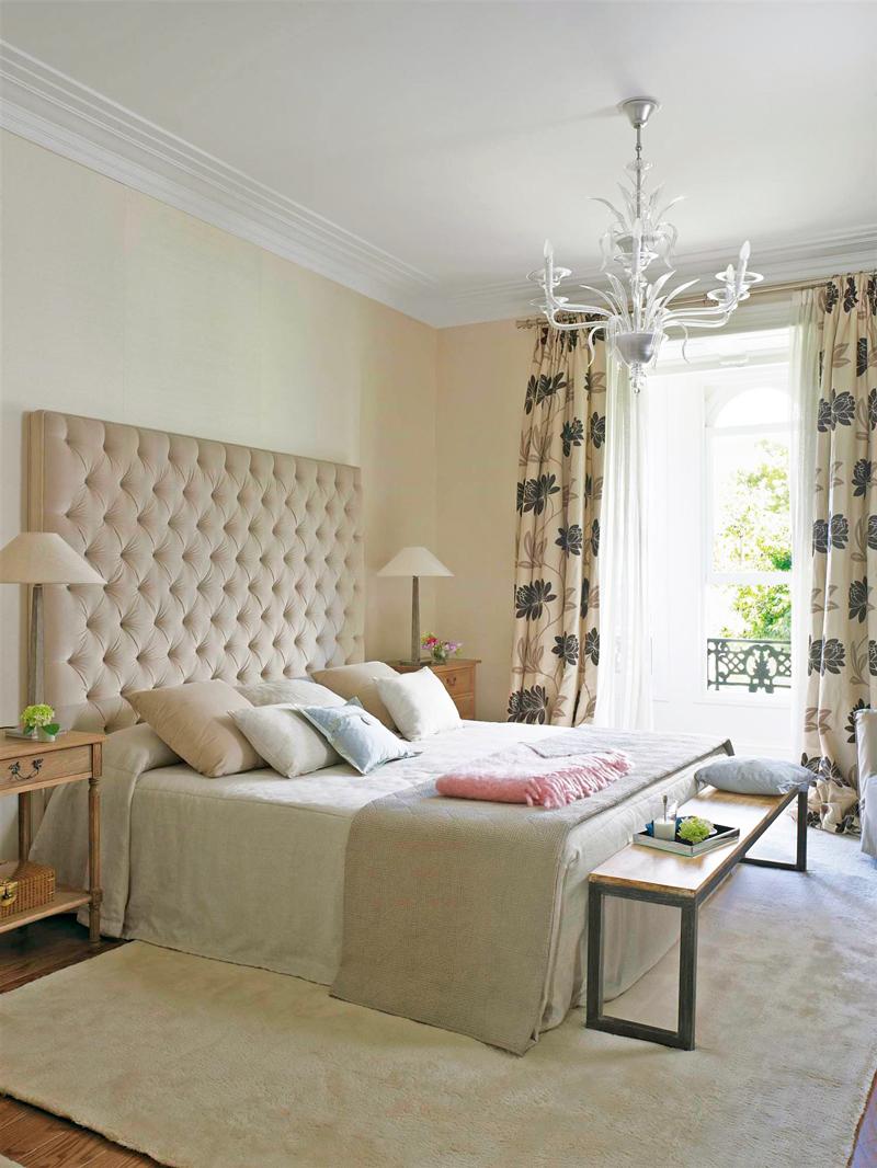 Cortinas perfecta para ventanas ideales - Cabeceros con cojines ...