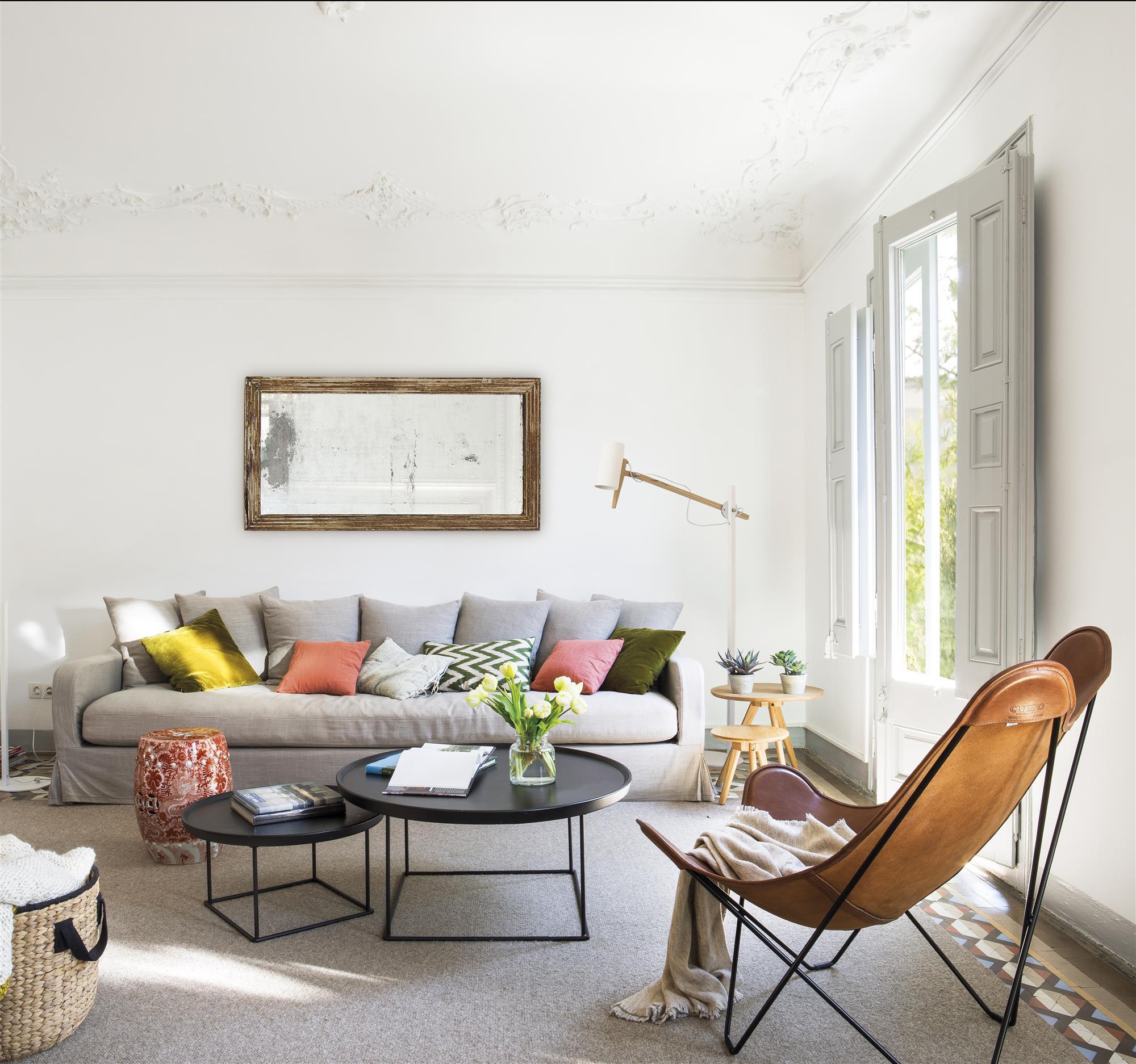 La revista el mueble del mes de enero 2018 - Decoracion paredes salones modernos ...