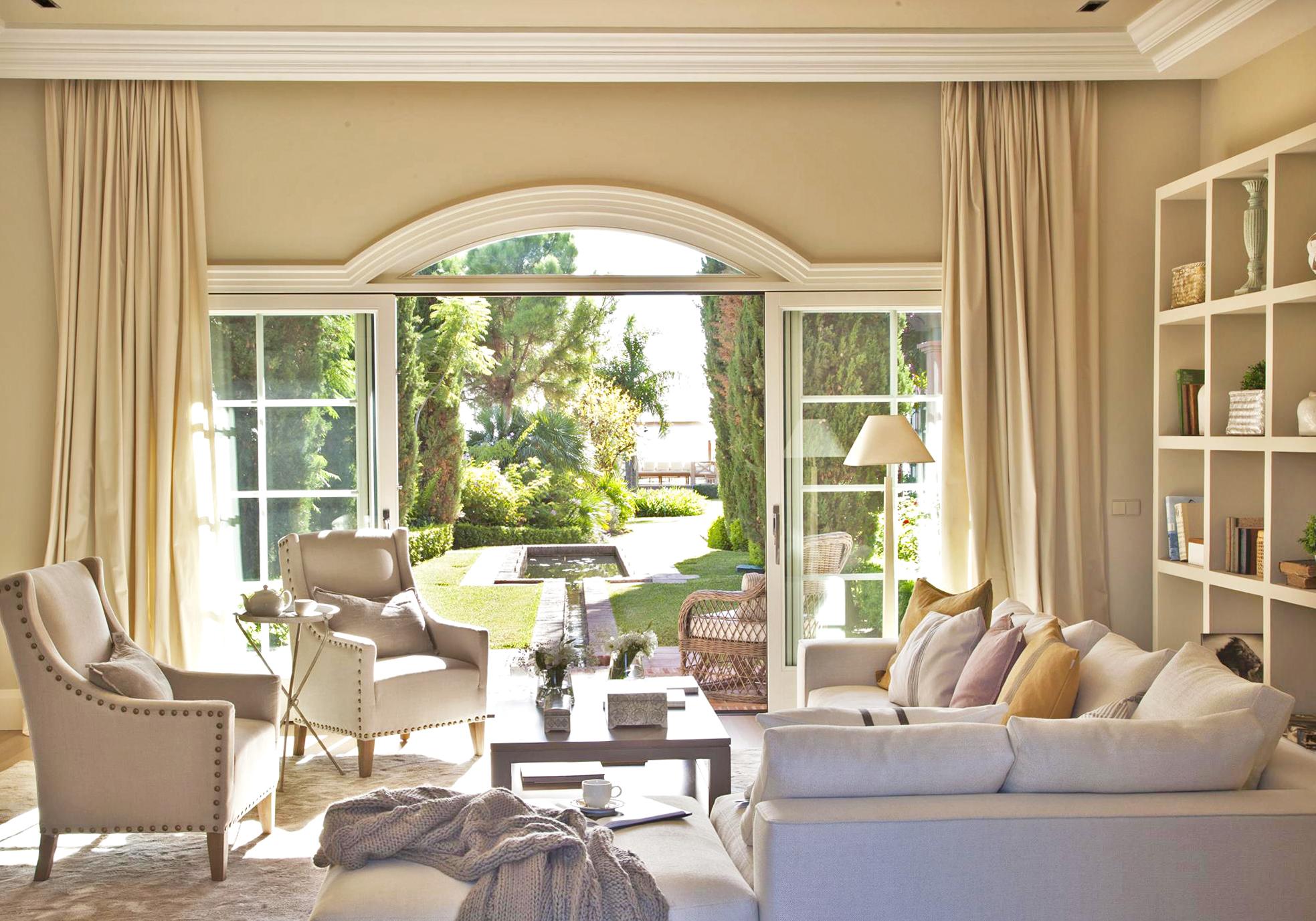Cortinas para porches de jardin for Cortinas exteriores para porches