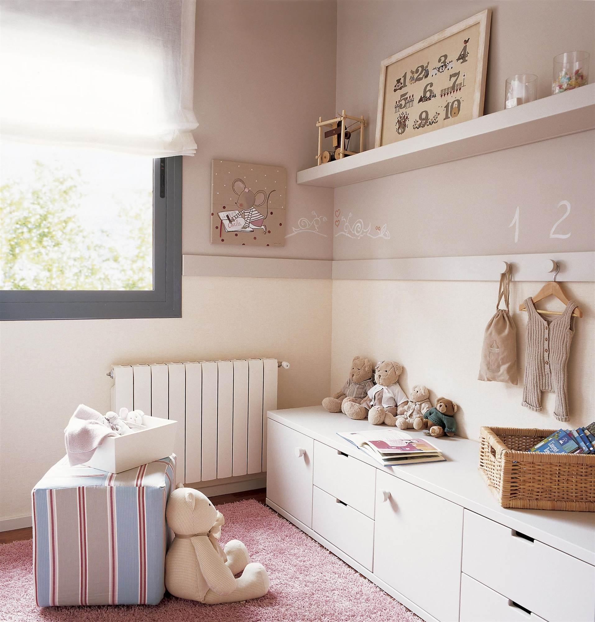 Ni os muebles y decoraci n de habitaciones infantiles for Muebles almacenaje ninos