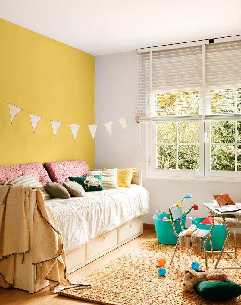 Colores para dormitorios infantiles for Colores de pared para habitacion