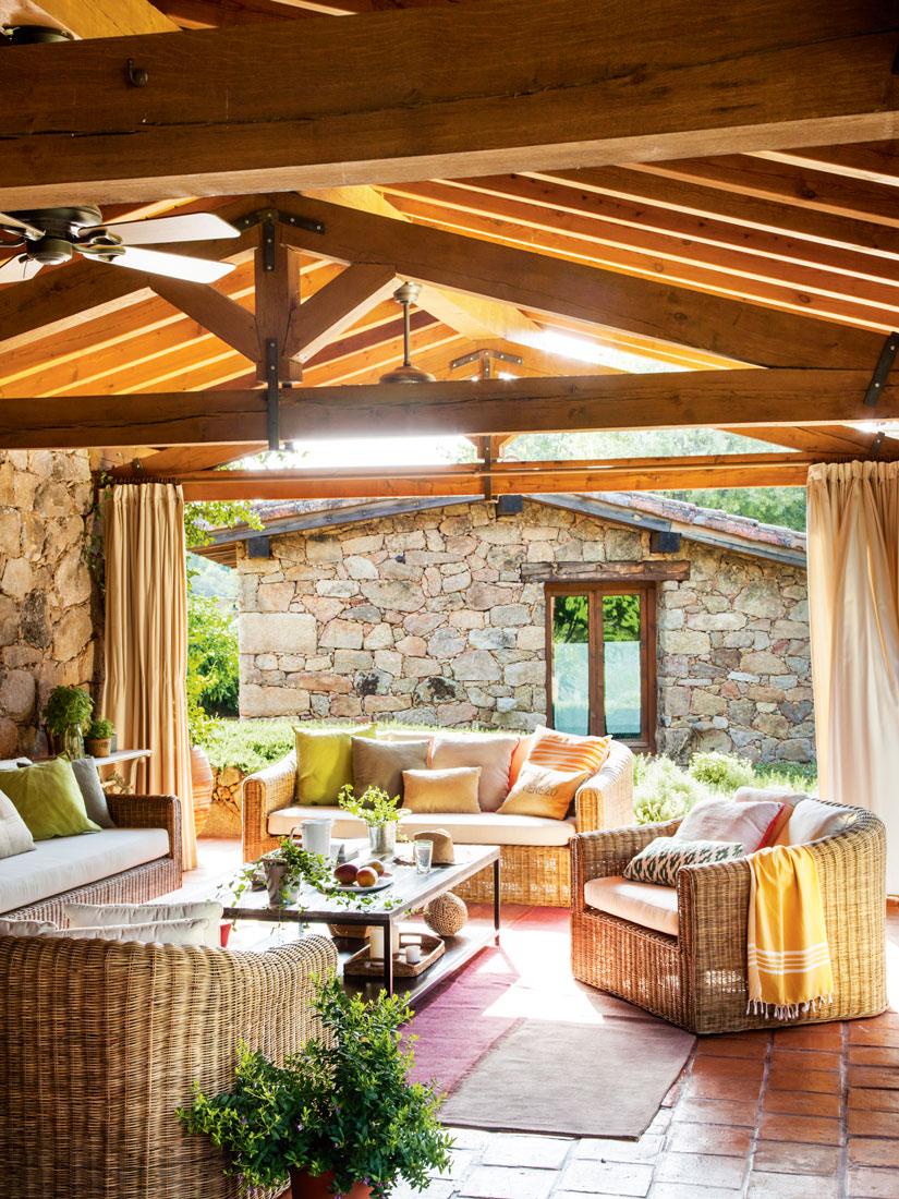 Los 50 mejores porches y terrazas - Techo terraza ...
