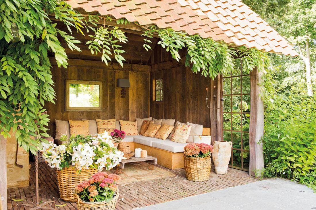 Los 50 mejores porches y terrazas - Jardines decorados con madera ...