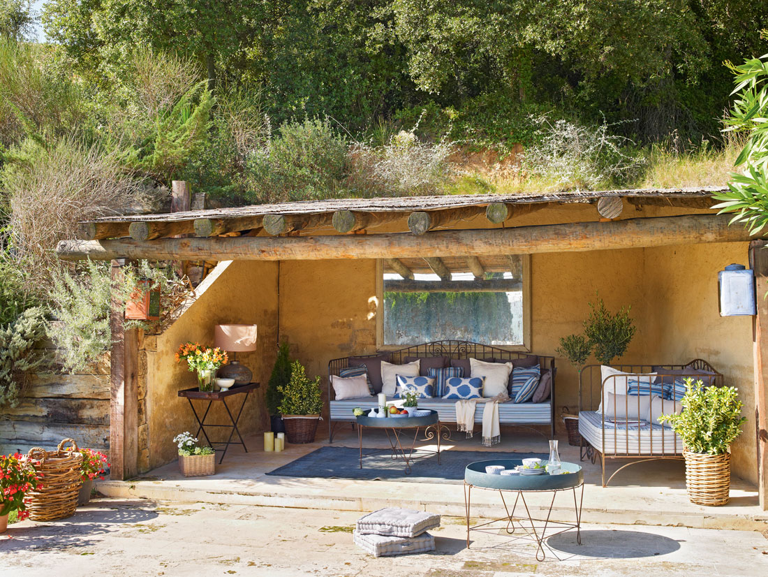 Los 50 mejores porches y terrazas - Fotos porches rusticos ...