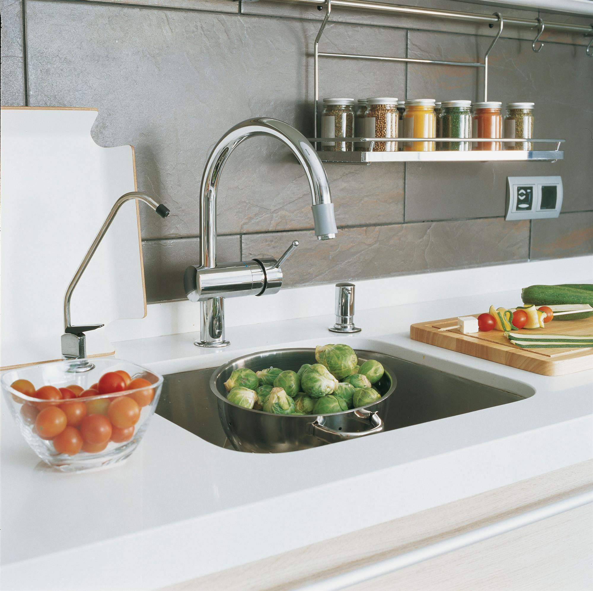 Materiales para el salpicadero de la cocina - Materiales de cocinas ...
