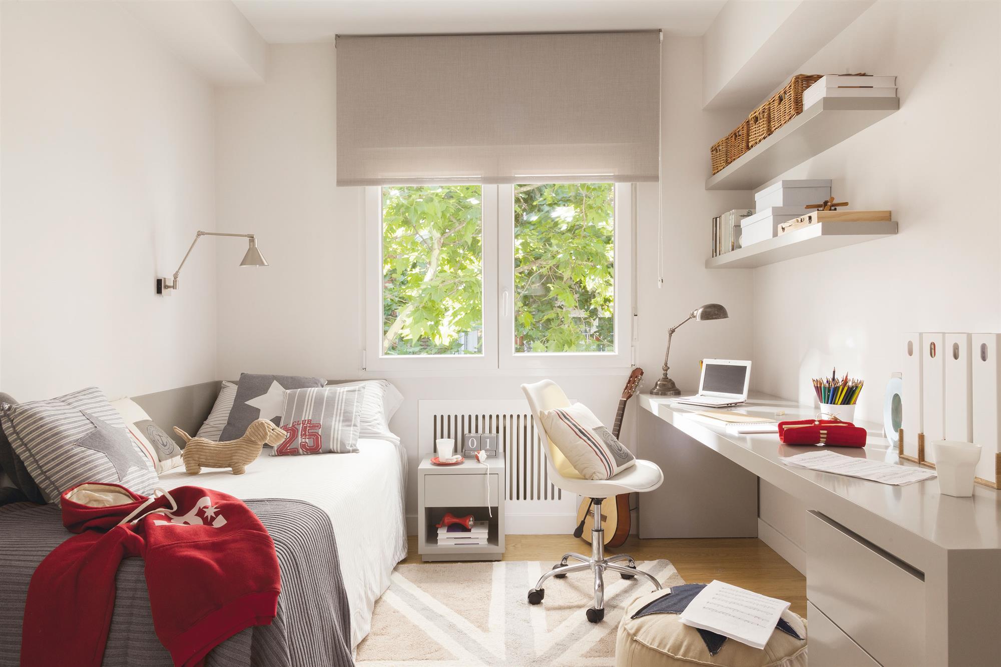 Ni os muebles y decoraci n de habitaciones infantiles - Dormitorio juvenil nina ...