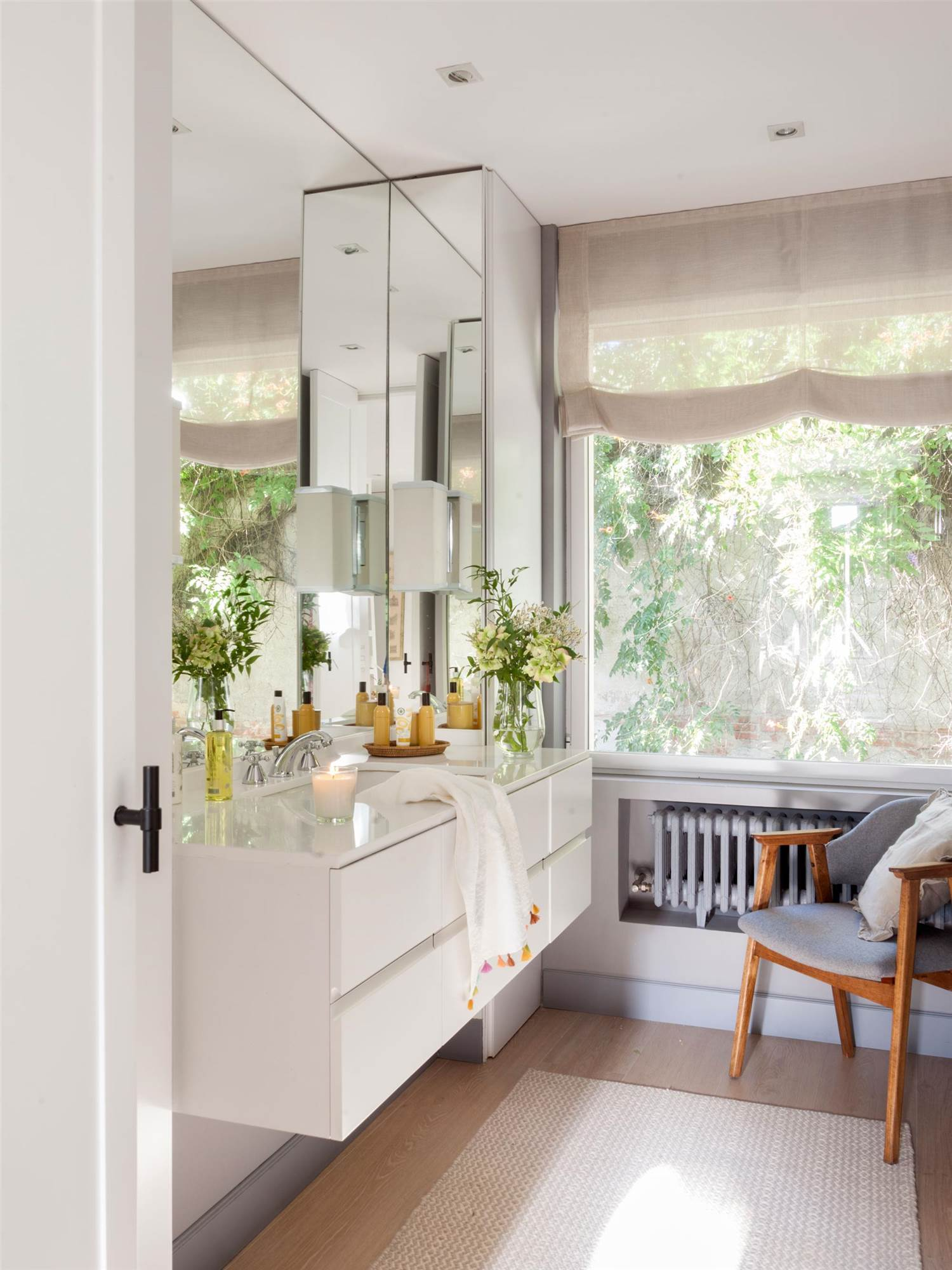 Ba os mamparas muebles espejos todo para la - Hornacina bano ...