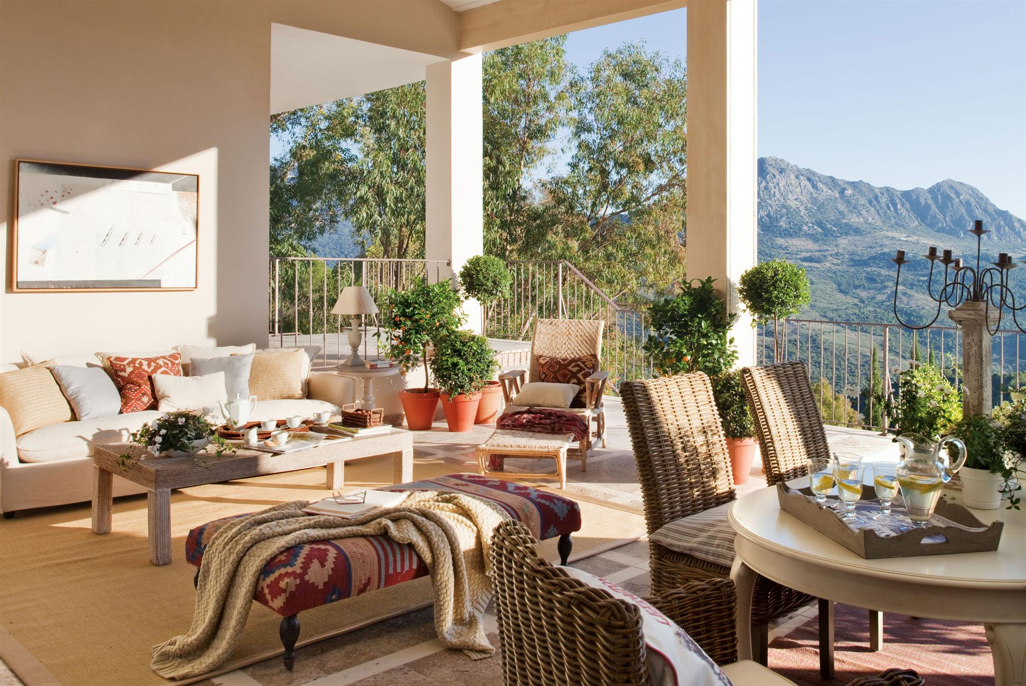 Terrazas muebles mesas e ideas para tu terraza el mueble - Terrazas bonitas ...