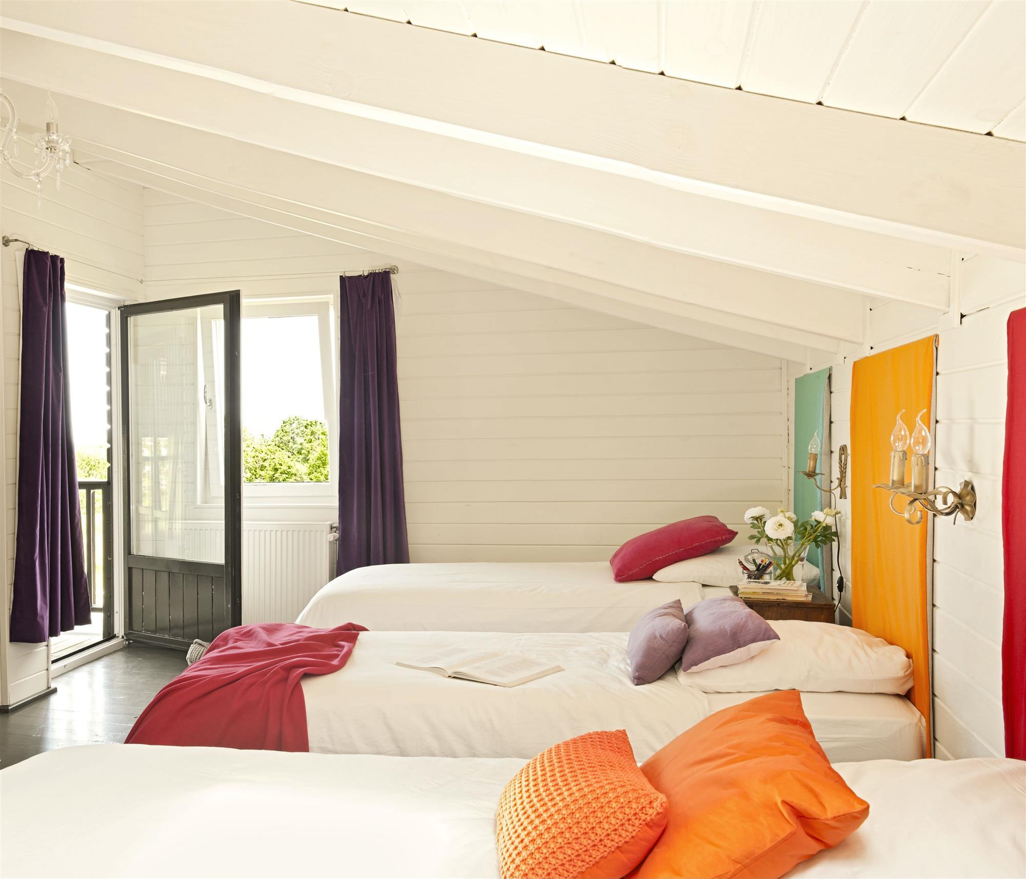Color naranja el mueble - Cortinas habitacion juvenil ...