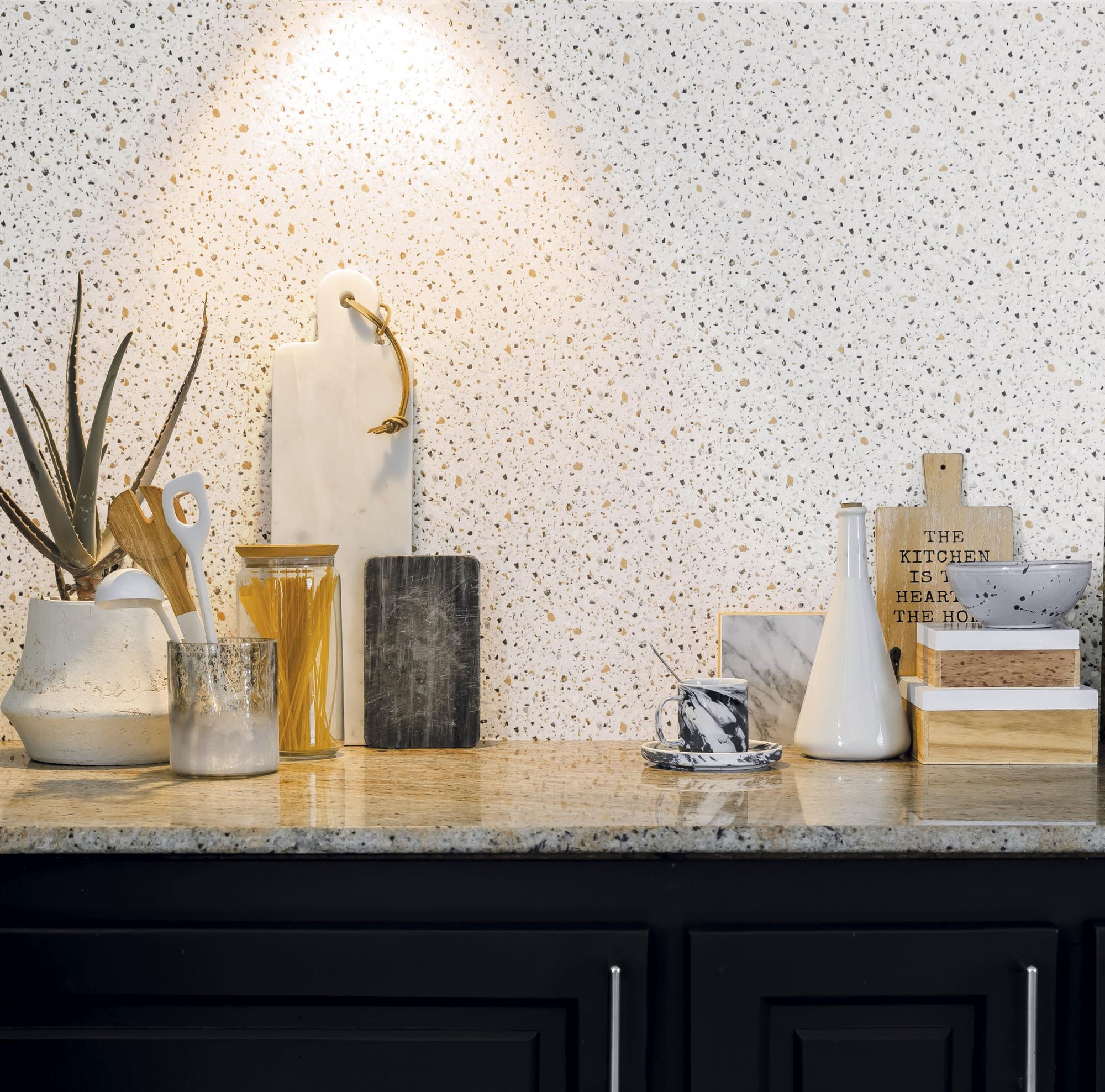 Papel pintado especial cocina fabulous bao con papel with - Como quitar papel pintado de la pared ...