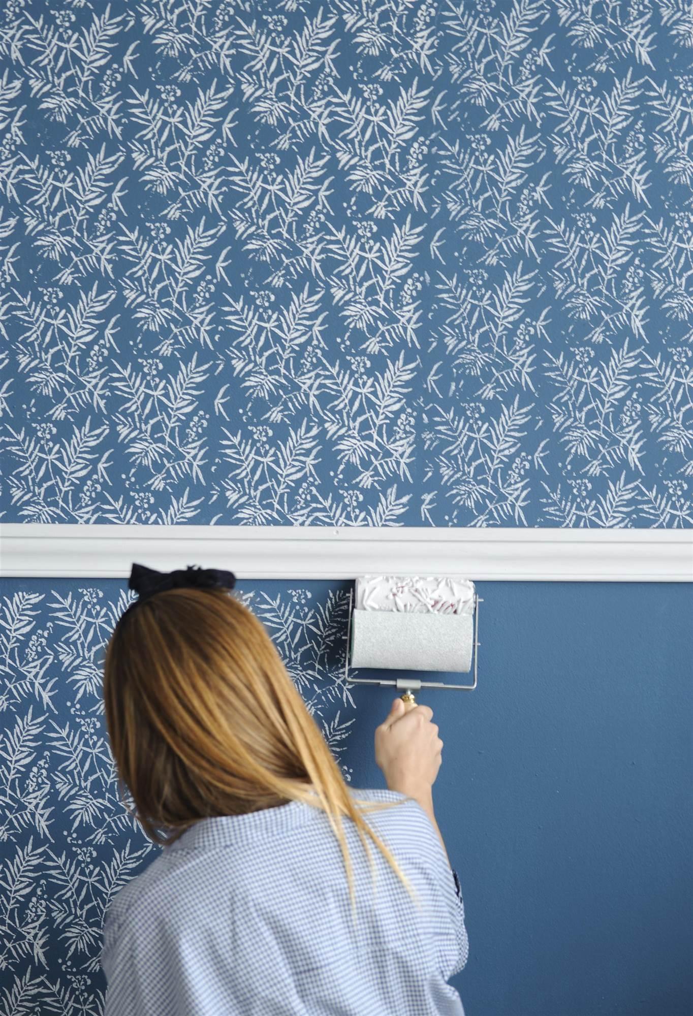 Trucos para renovar las paredes de tu casa - Estilos de pintura para paredes ...