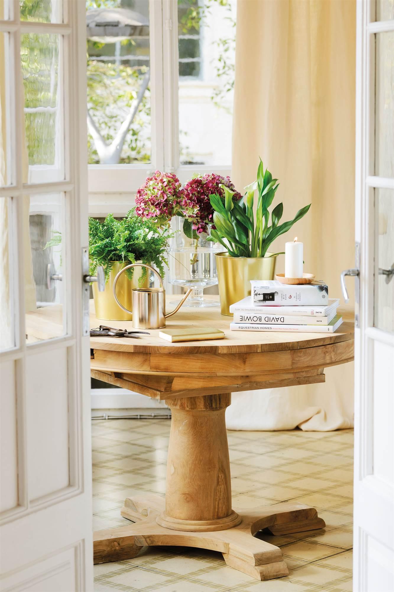 Tiestos grandes macetas y jardineras decorativas de gran - Macetas de madera ...