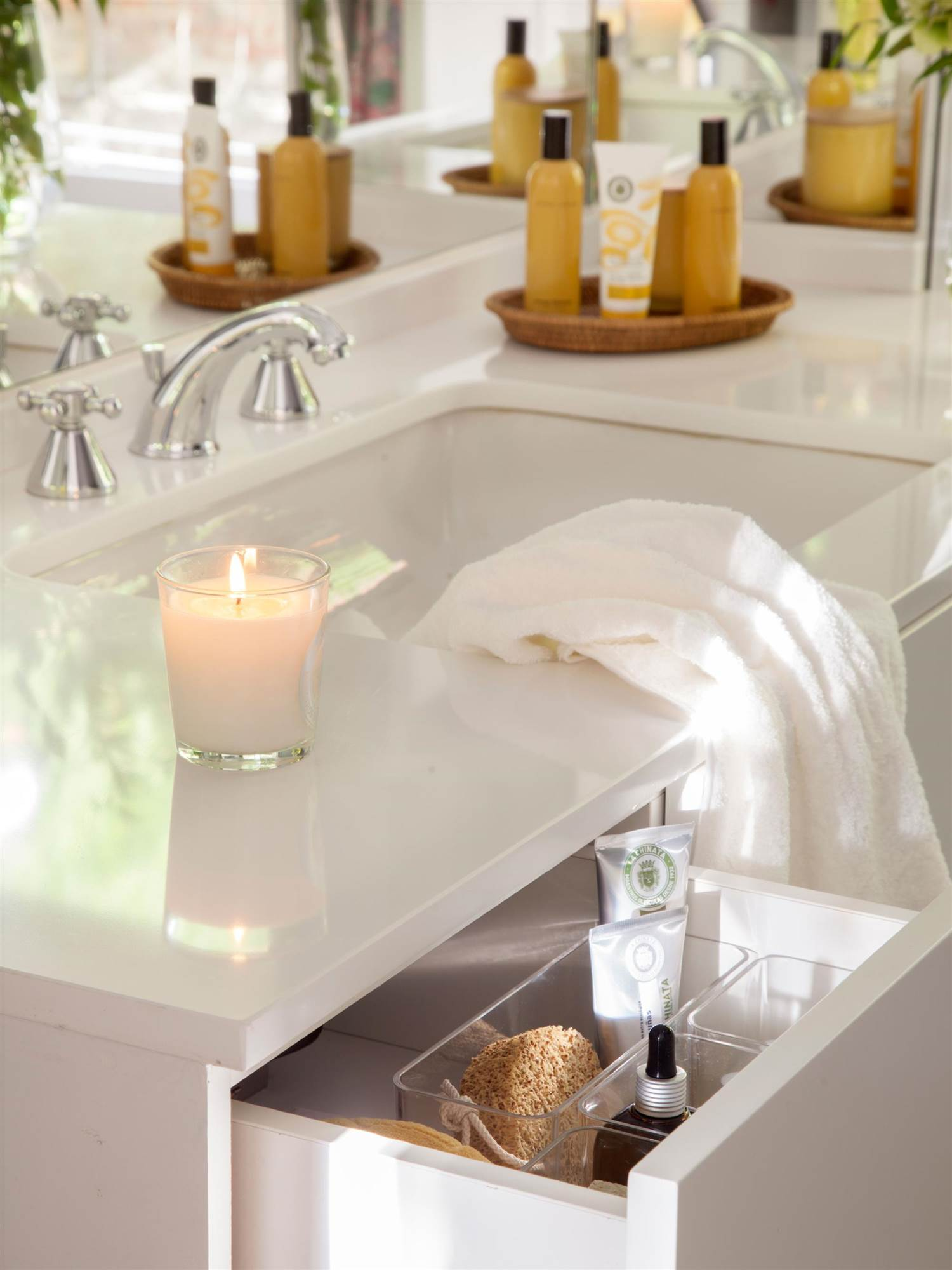 Accesorios prácticos y decorativos para el baño