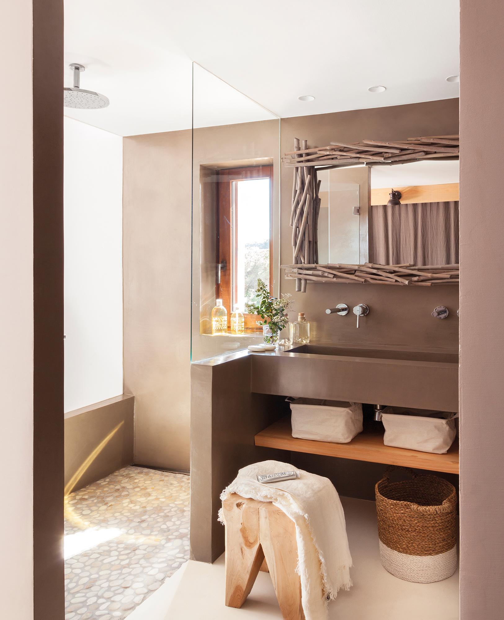 Muebles ba o decoraci n accesorios mamparas y azulejos for Muebles de cuarto de bano grandes