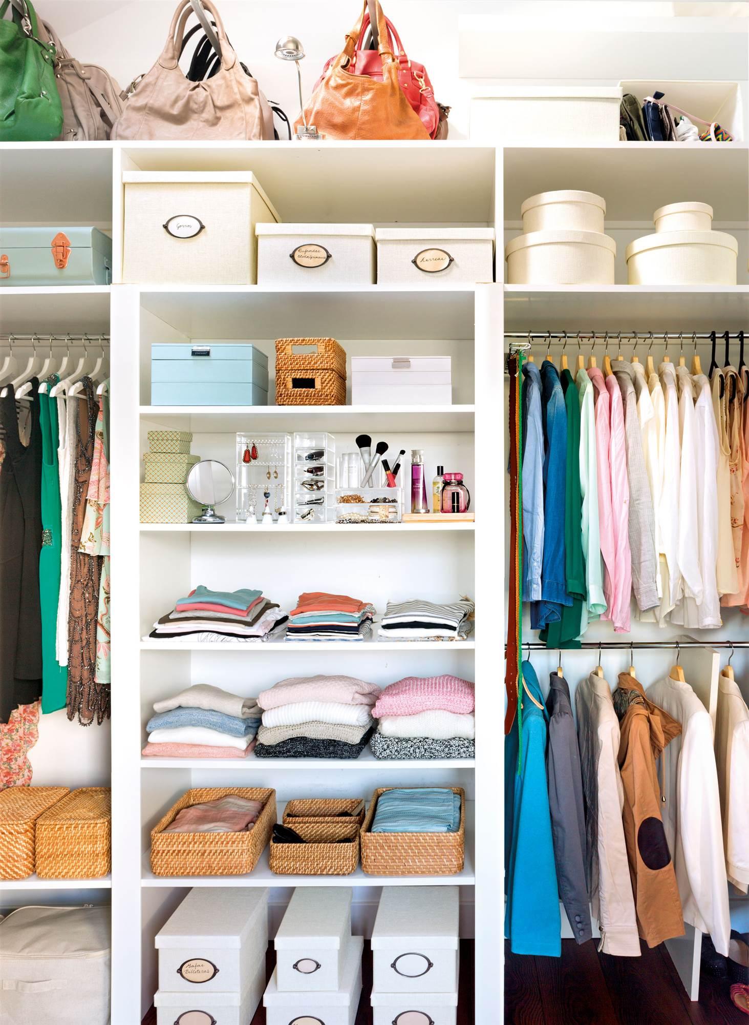 Adesivo De Cozinha ~ Vestidores Ideas para armarios vestidores pequeños o abiertos ElMue
