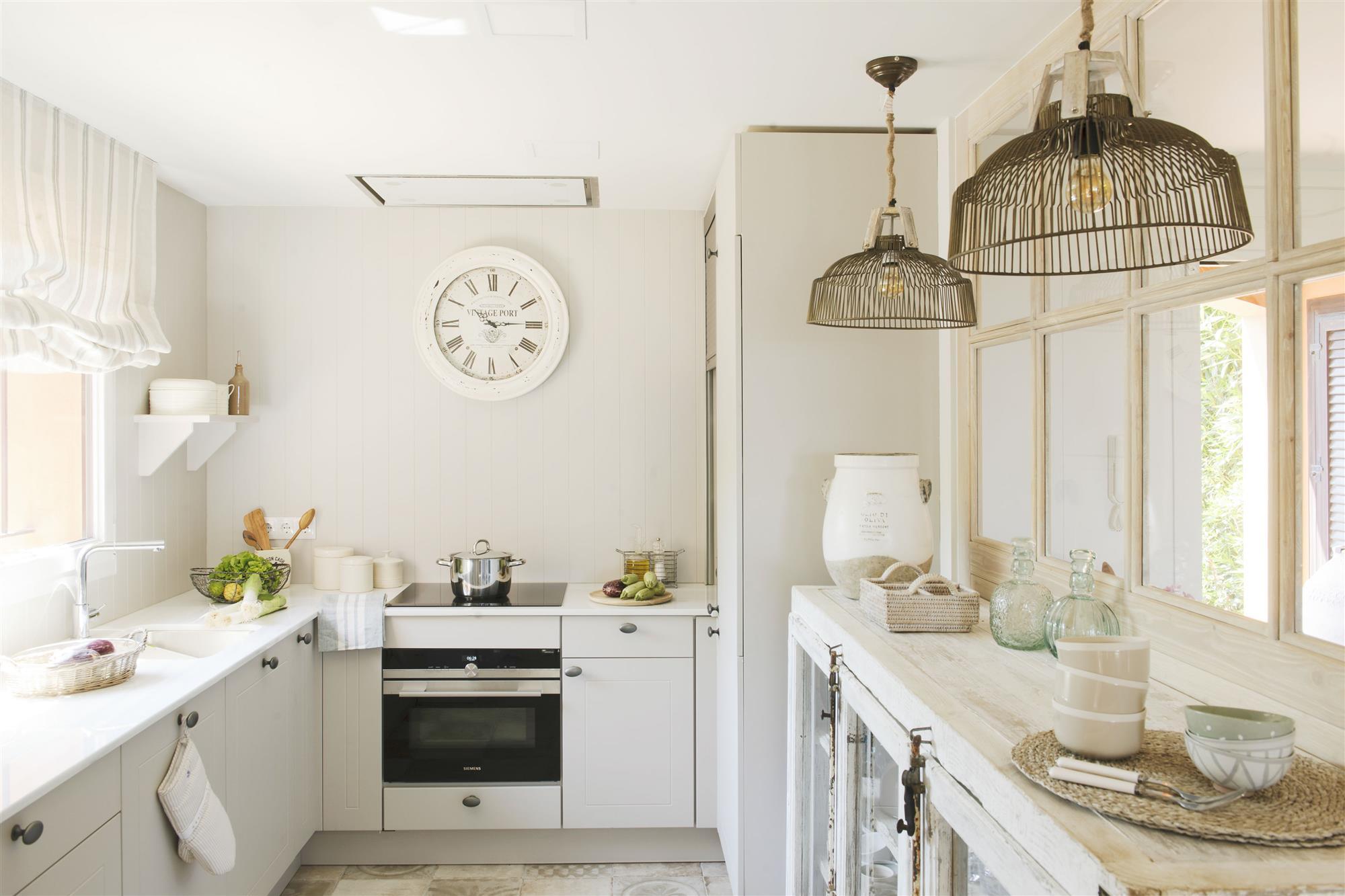 739 fotos de muebles de cocina - Lamparas para cocinas ...