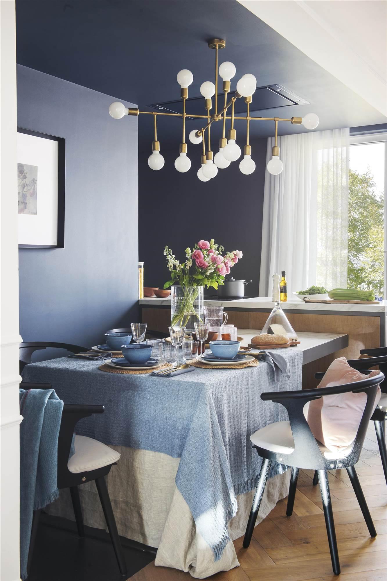 71 Fotos De Azul Oscuro - Paredes-pintadas-de-azul