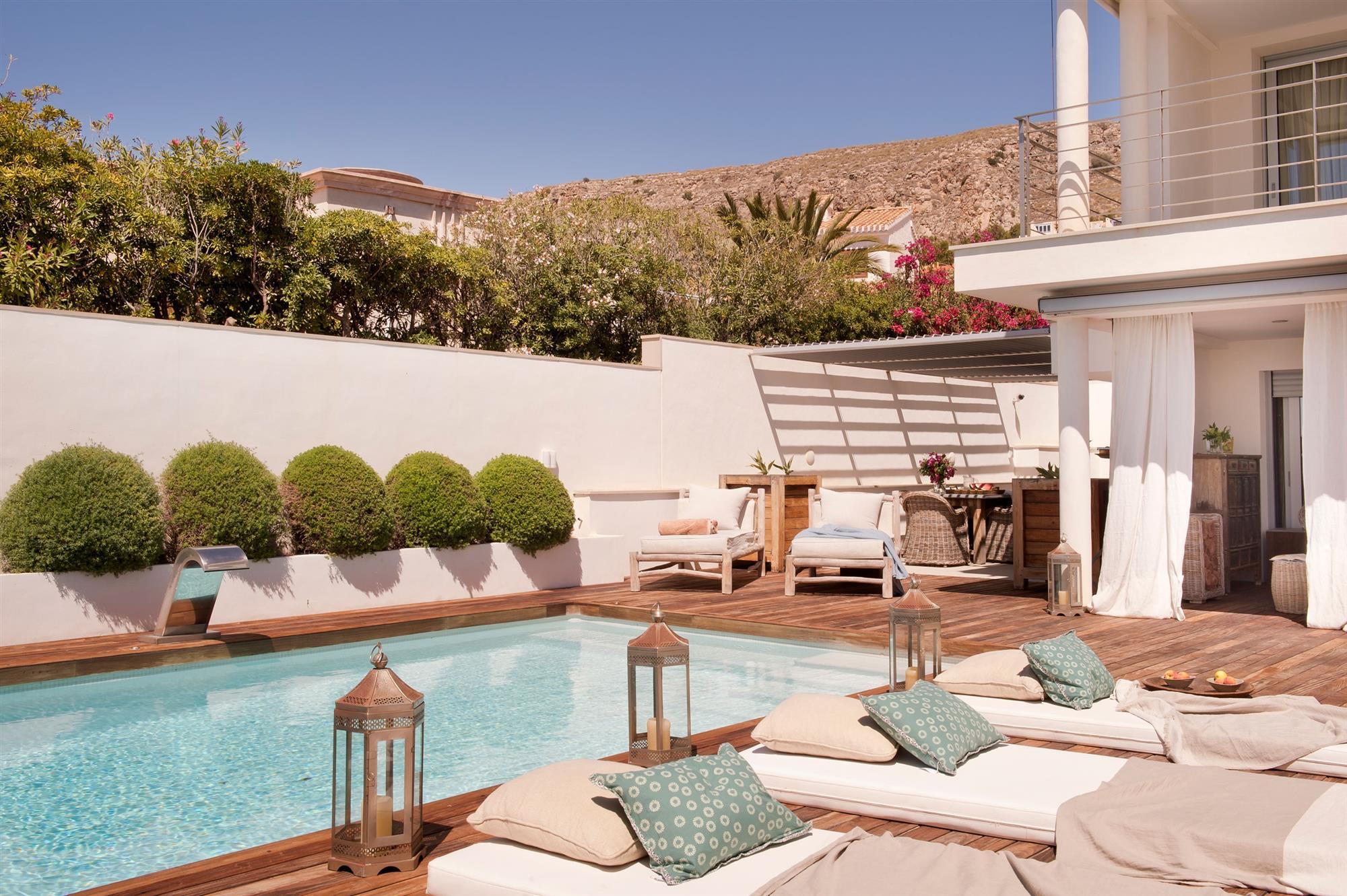 Decorar Piscinas Exteriores Finest Decorar Terrazas Pequenas - Decoracion-piscinas-exteriores