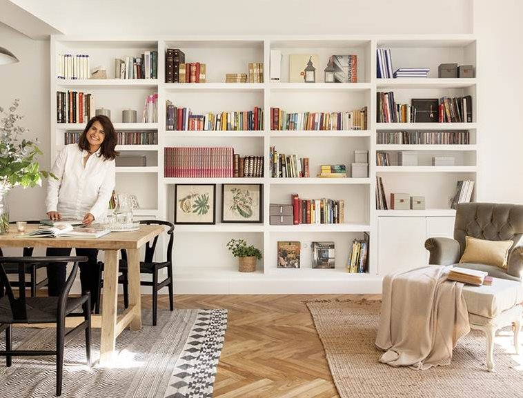 Estas 9 librer as son la envidia de cualquier sal n for Librerias para despacho decoracion