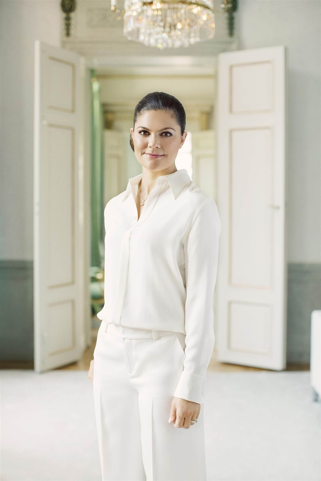 HRHCrownPrincessVictoria(2)photo Erika Gerdemark Royalcourt Sweden. Un palacio en blanco