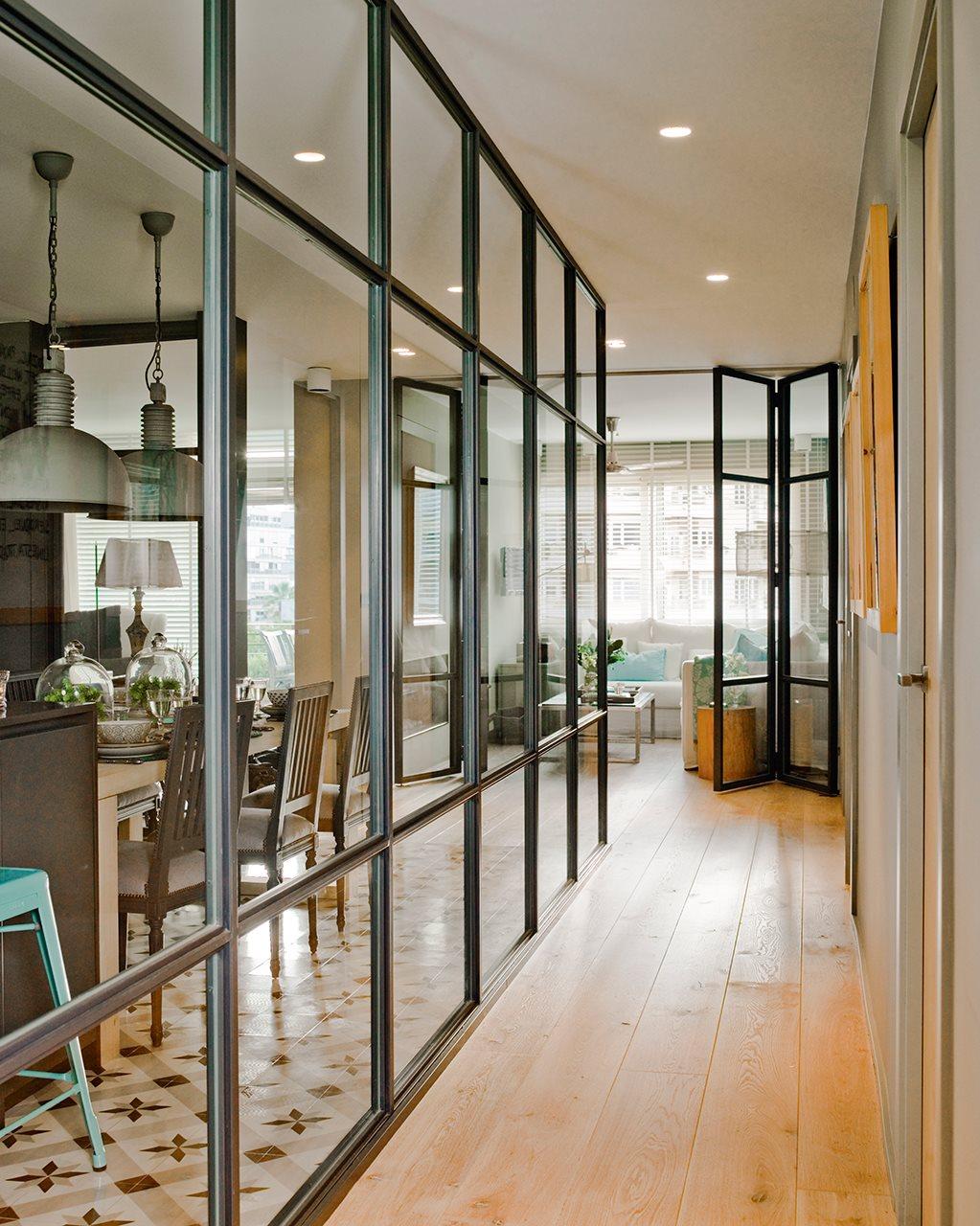 74 fotos de puertas de cristal - Puerta cocina cristal ...