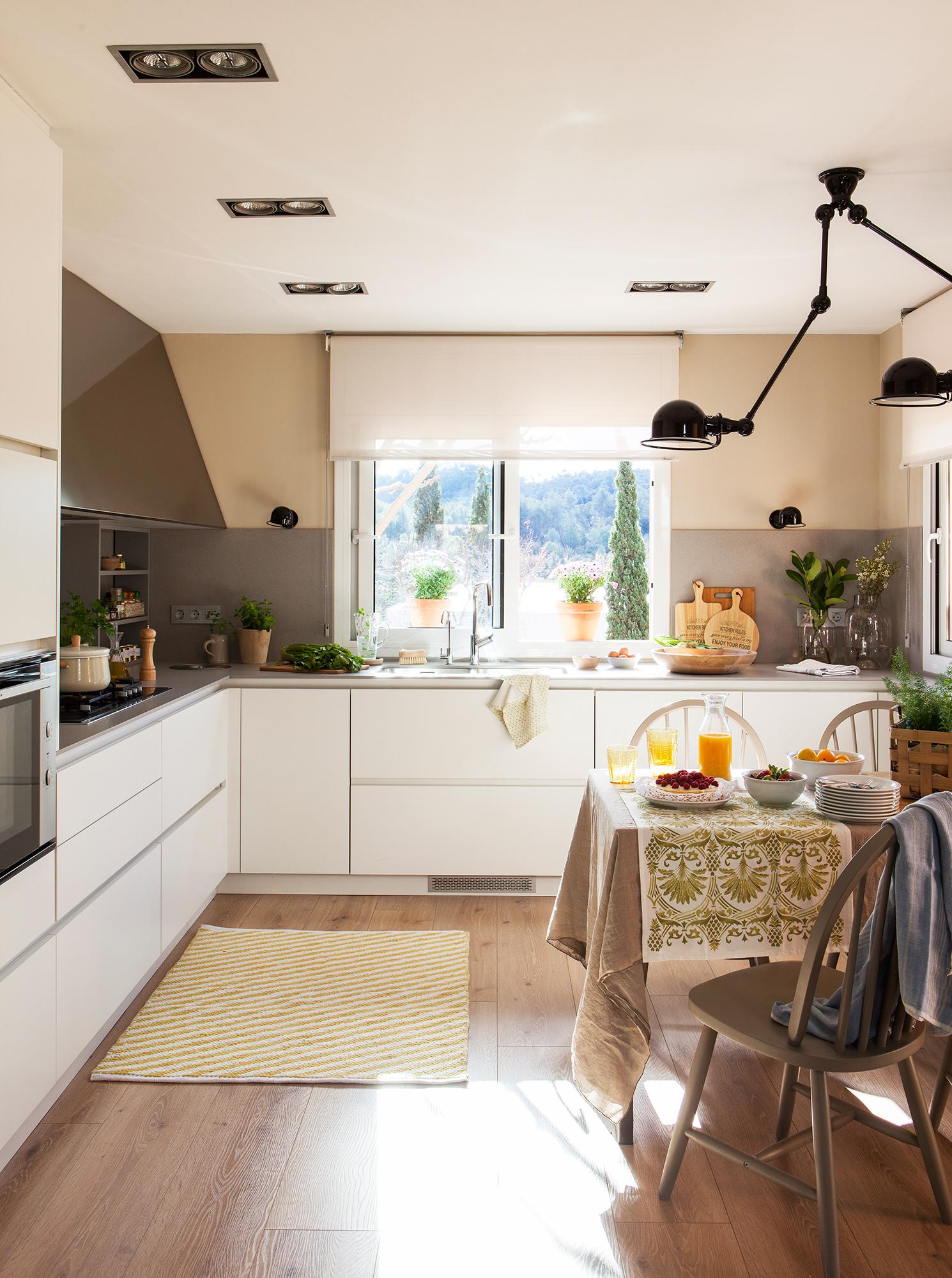 Alfombras en la cocina: ventajas