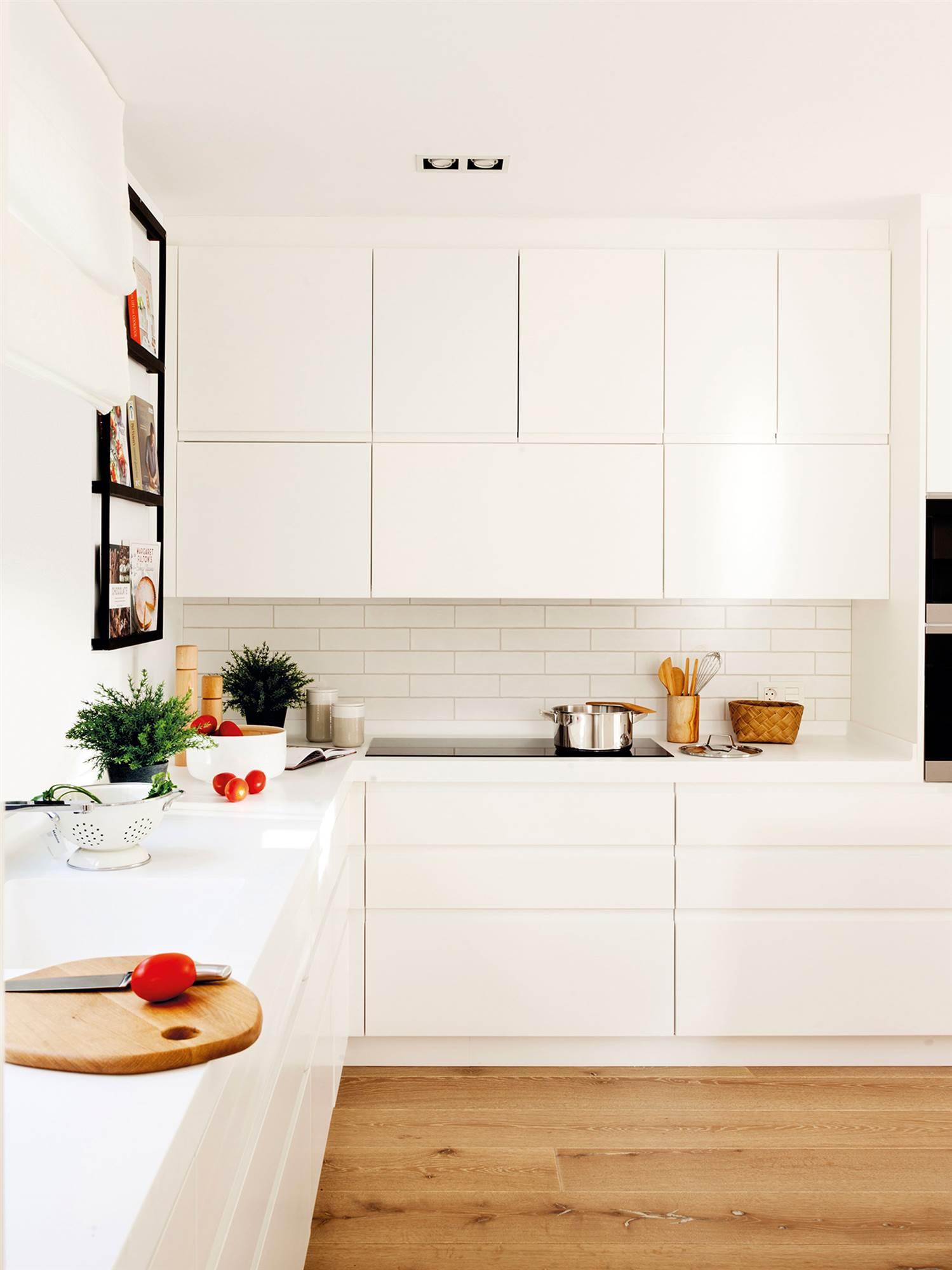 Cocinas blancas que nunca pasan de moda