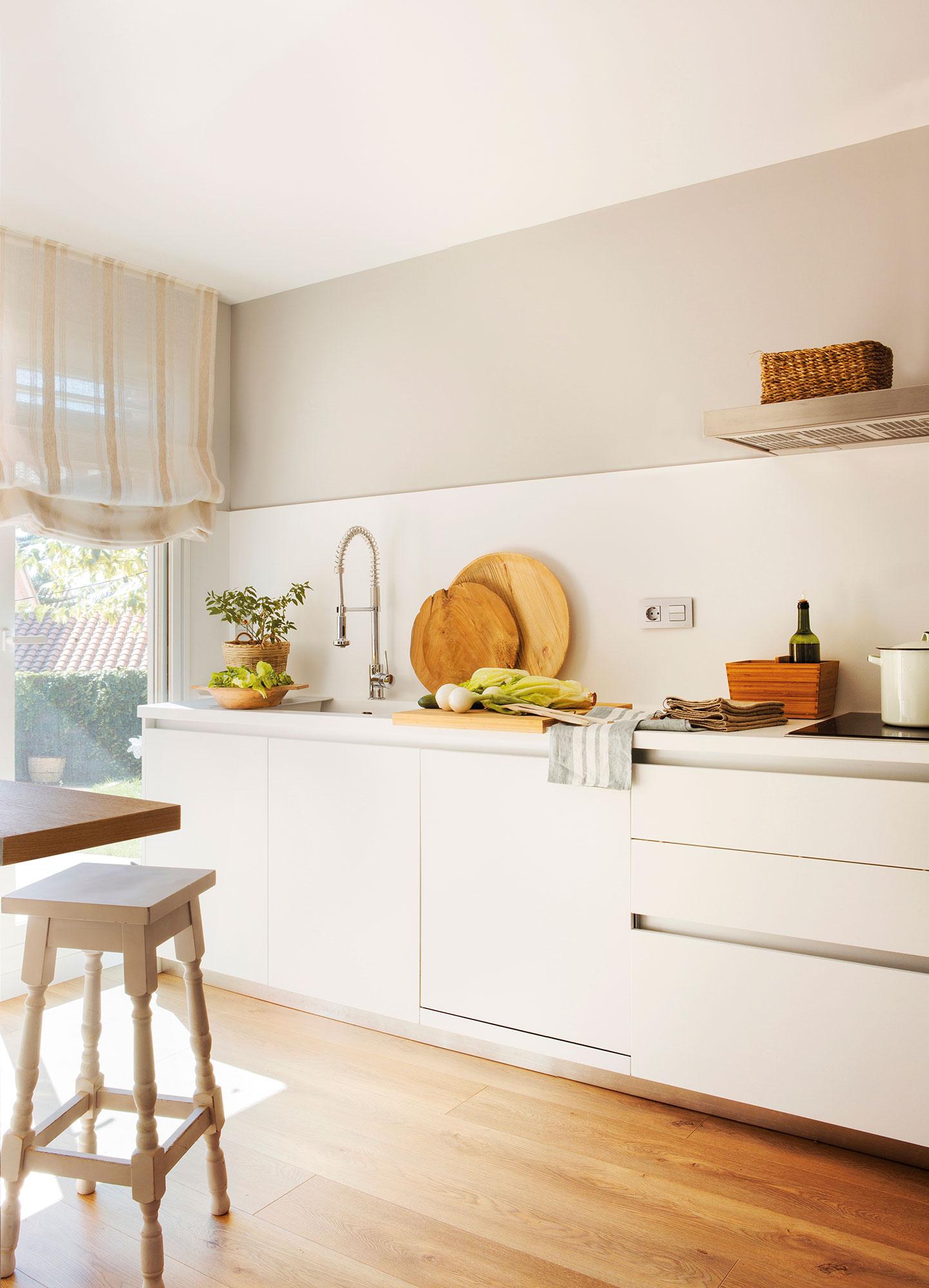 Cocinas blancas que nunca pasan de moda - Cocinas blancas ...
