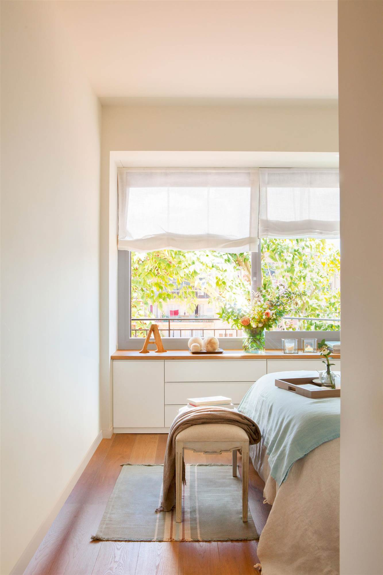 Ideas para aprovechar al m ximo el dormitorio - Aprovechar espacio dormitorio ...