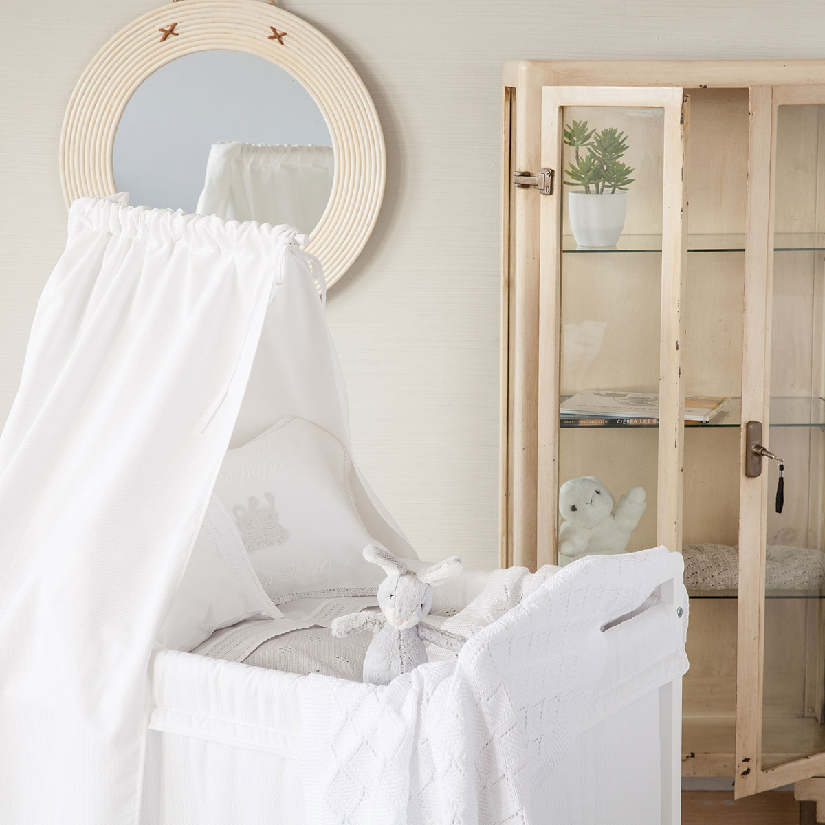 Ideas para la habitaci n de tu beb - Zara home minicuna ...