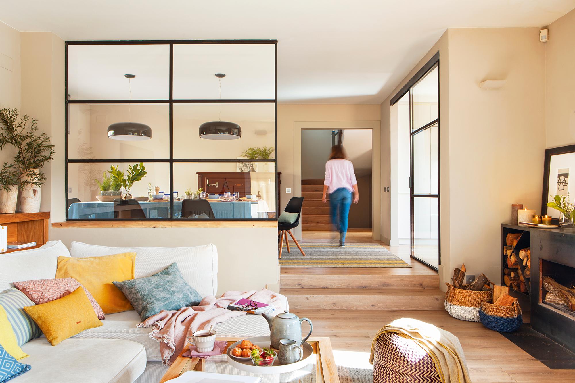 Separar ambientes 10 ideas pr ticas y decorativas for Se puede dividir un piso en dos