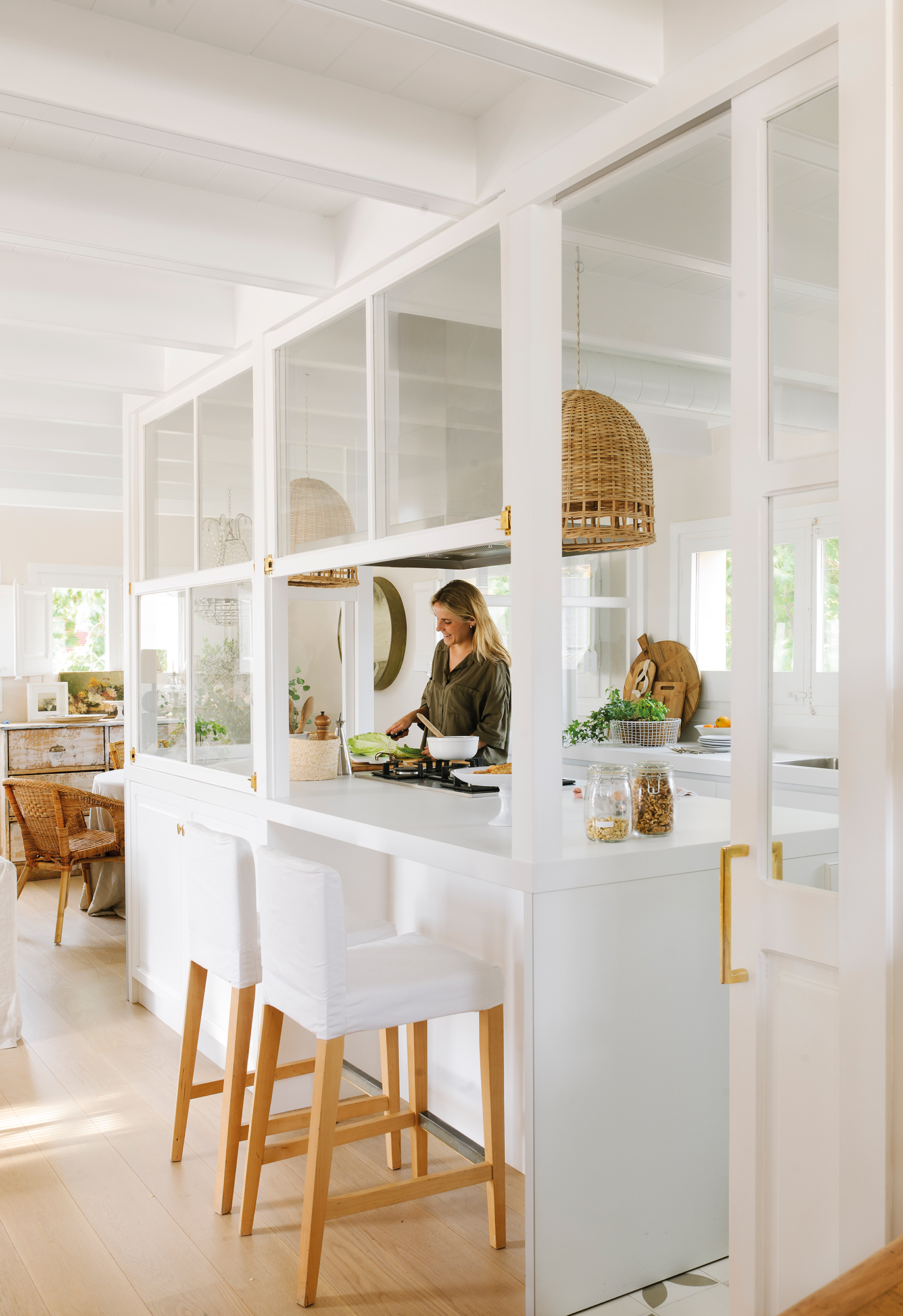 Separar ambientes 10 ideas pr ticas y decorativas for Separacion entre cocina y comedor