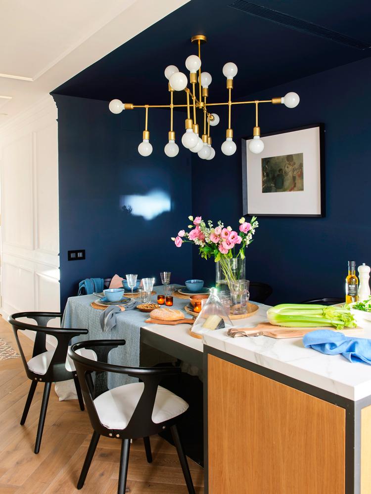 Estos son los 12 imprescindibles en decoraci n para 2018 - Cocinas azul tierra ...