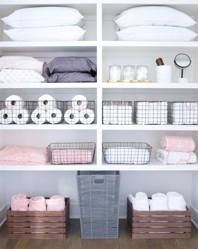 C mo guardar y ordenar las toallas y s banas - Armario ropa blanca ...