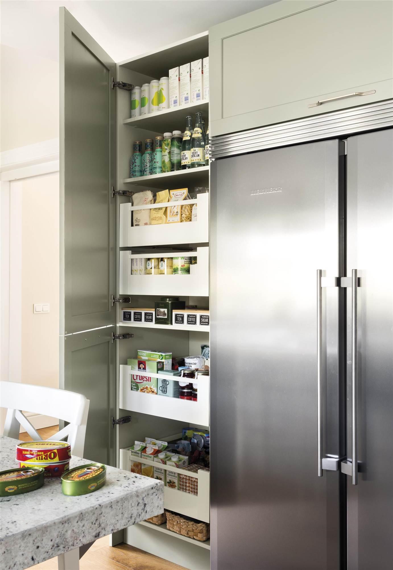 Tu despensa en casa: fotos de despensas con soluciones de almacenaje