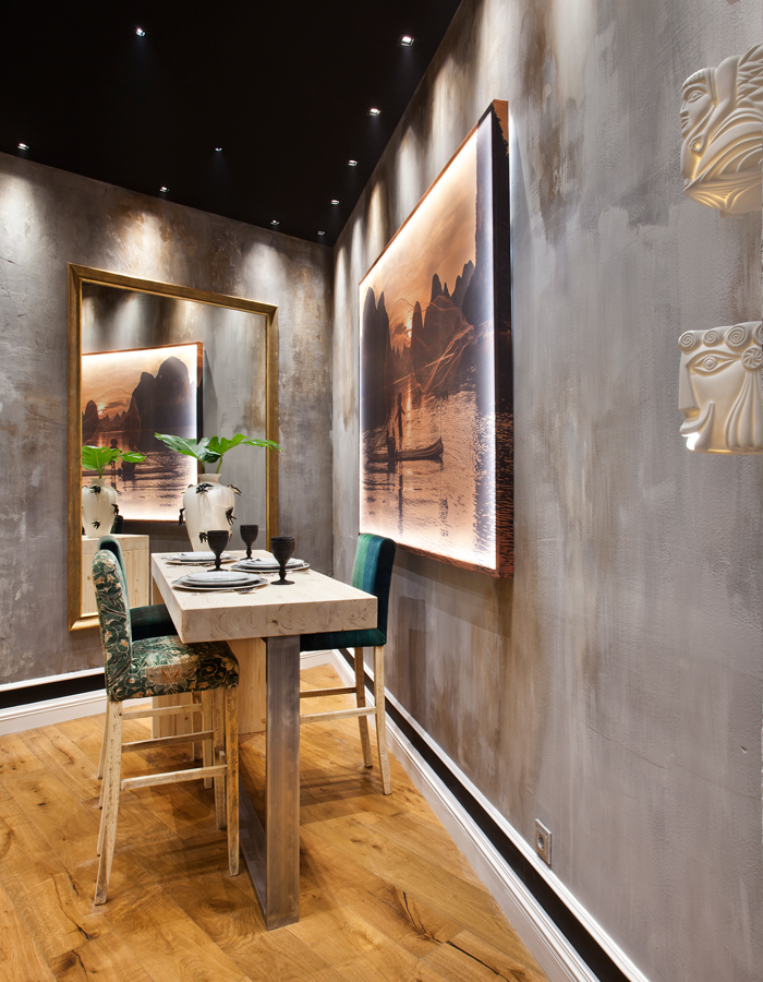 casa-decor-2018-sara-lago-y-noelia-diego-acevedo-01. Distressed walls