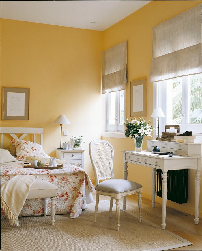 Todo sobre el amarillo - Combina colores en paredes ...