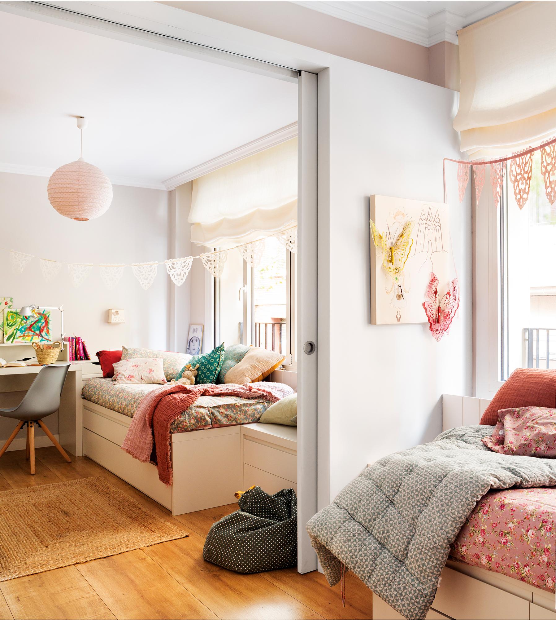 Ni os muebles y decoraci n de habitaciones infantiles for Decoracion de mini apartamentos