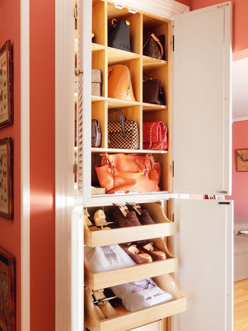 Zapateros y accesorios de orden para guardar tus zapatos - Como organizar armarios ...